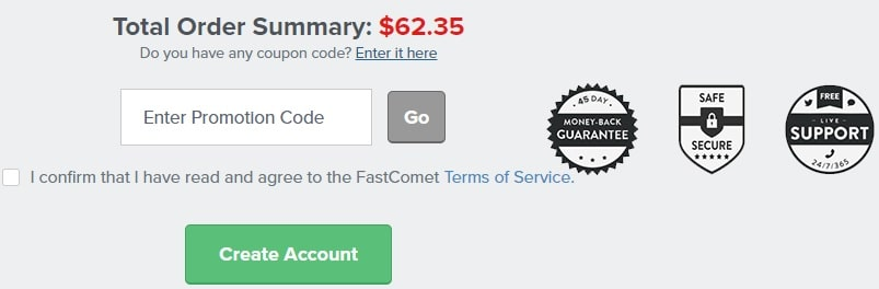 Fastcomet Coupon Code