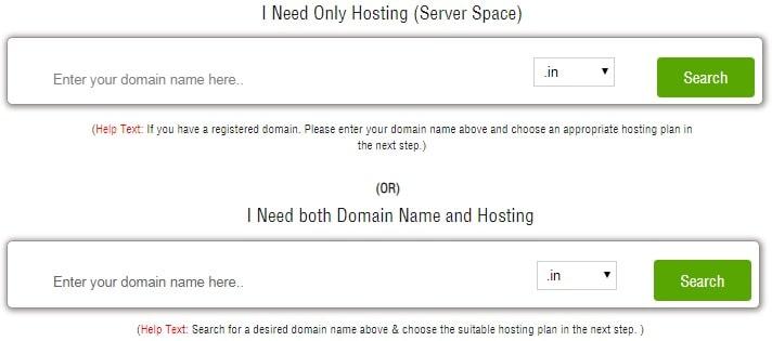 HostingRaja Domain