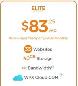 Elite Plan WPX Hosting