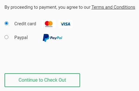 Stablehost Payment methods